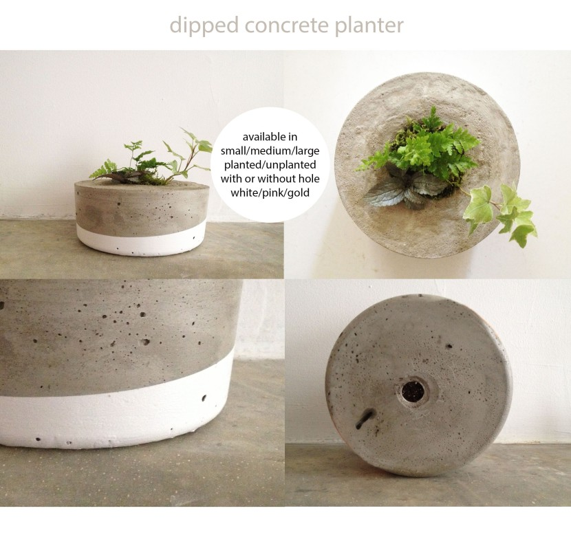 product sheet concrete dipped